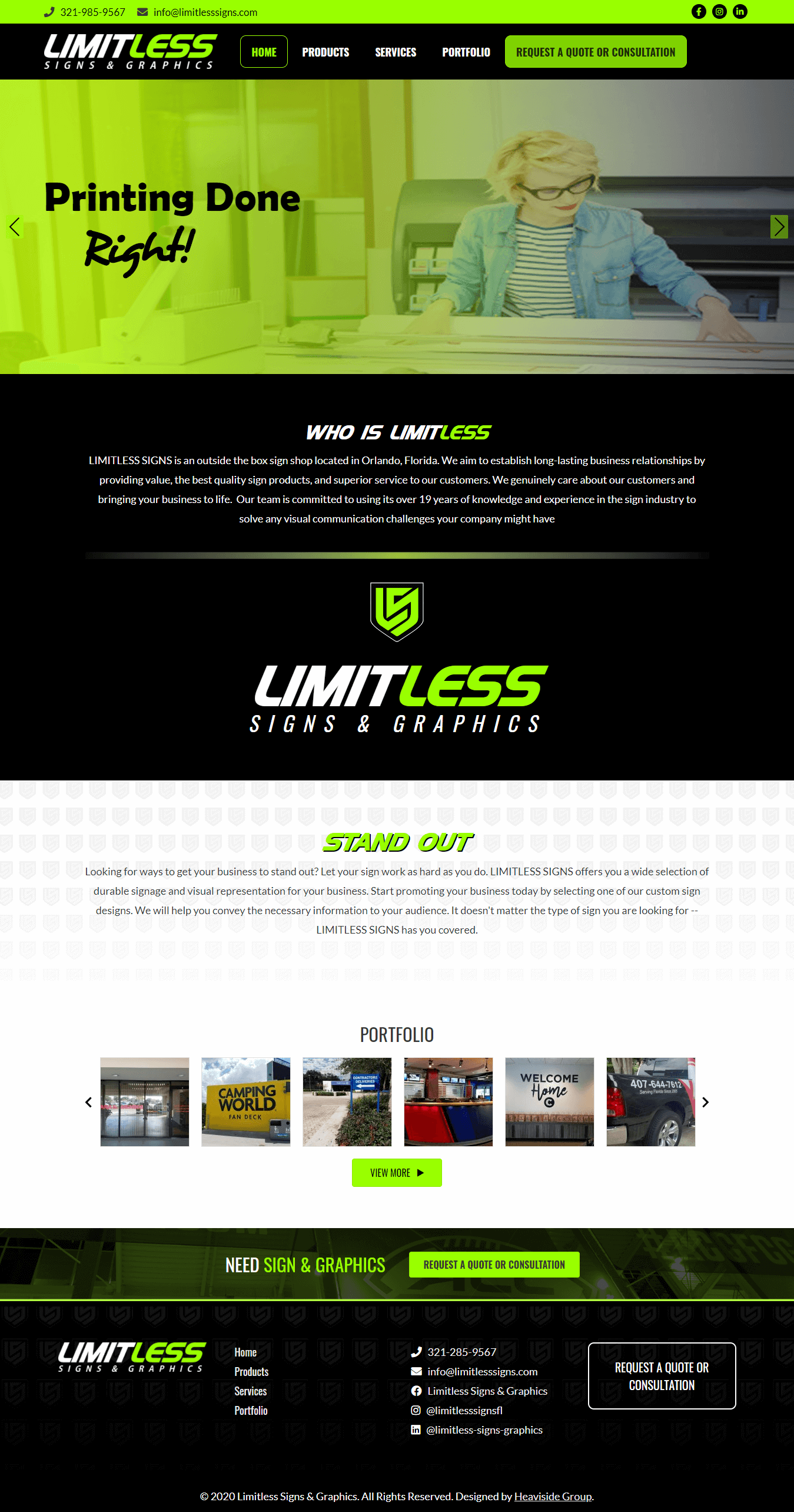 Limitless Signs & Graphics